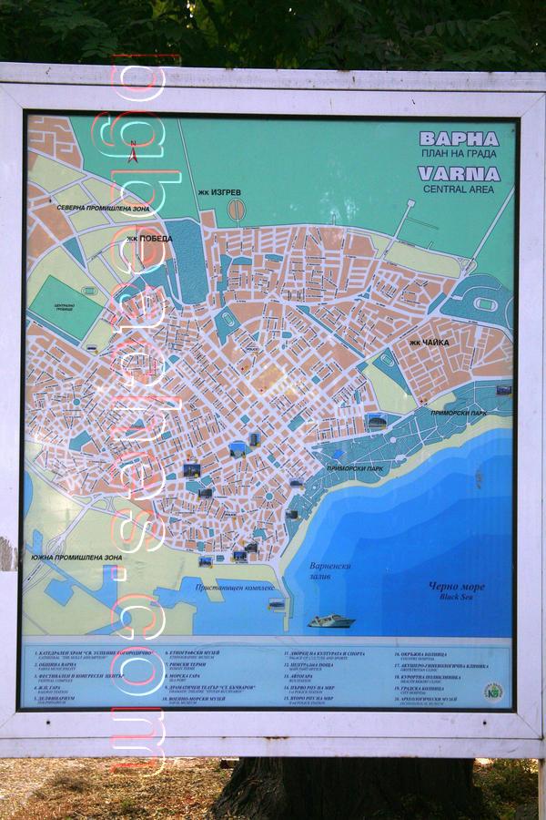 Karta 2019 Plazhove Varna Karta